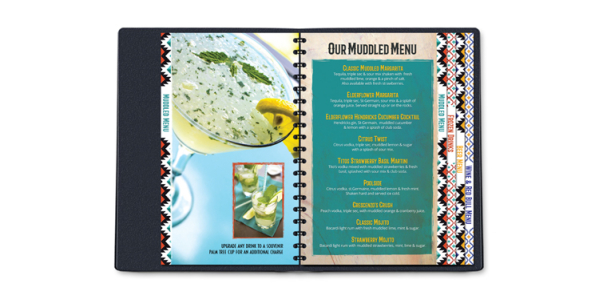 The Woodlands Deck Menu