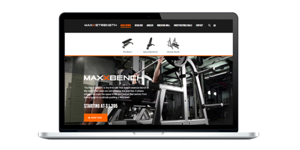 Maxx Strength Website